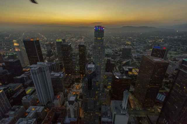 DTLA. Los Angeles Helicopter Tours.