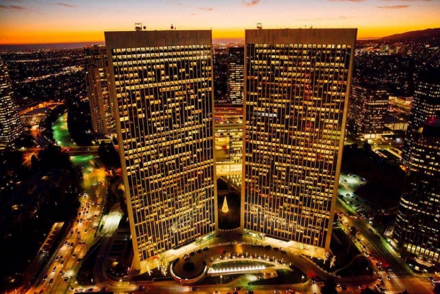 Century City, CA. Los Angeles Helicopter Tours.