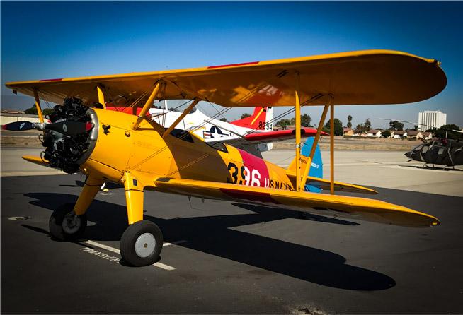 Biplane rides. Los Angels airplane rides.