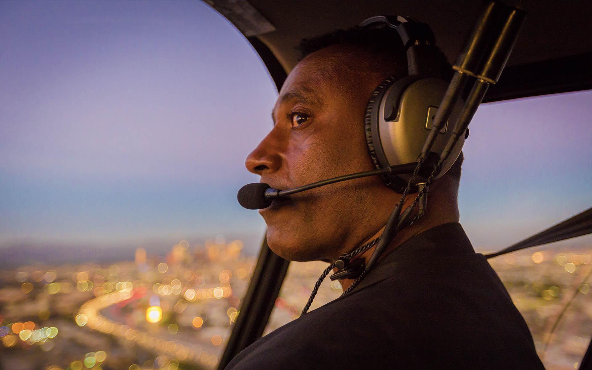 Chief Pilot Robin Petgrave