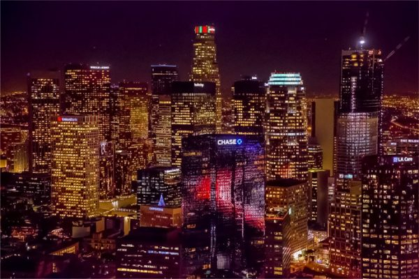 The original night tour. Los Angeles helicopter tours.