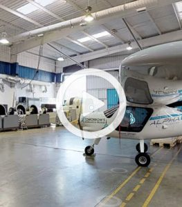 Click here for 3D model of Tomorrow's Aeronautical Museum Hanger space